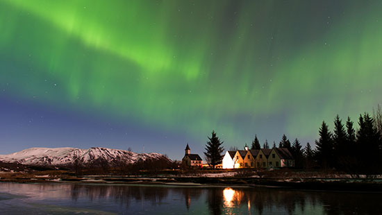 NorthernLights Thingvellir Iceland