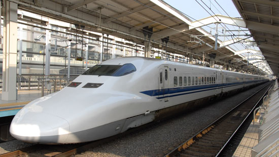 Hiroshima bullet train
