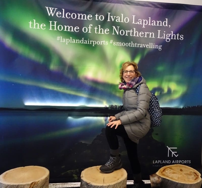 Judy in Lapland