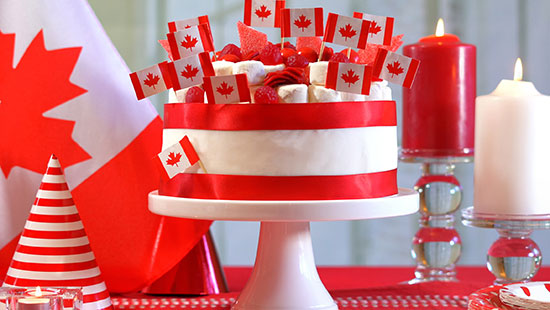 CanadaDayDecorations