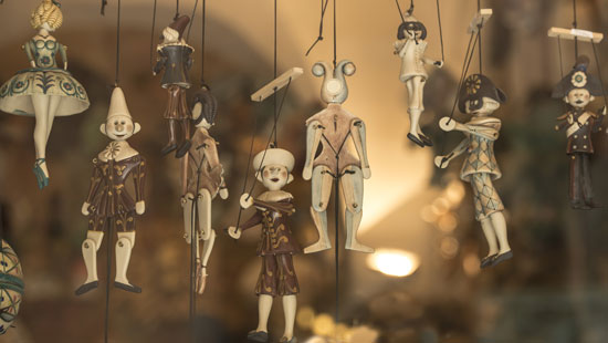 Marionettes in Italy