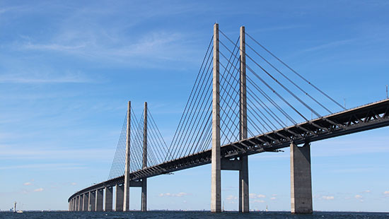 bridge denmark sweden