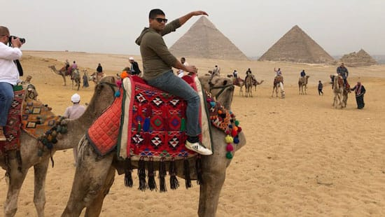 Ryan on camel