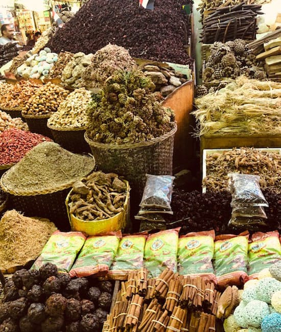 Marketplace in Egypt