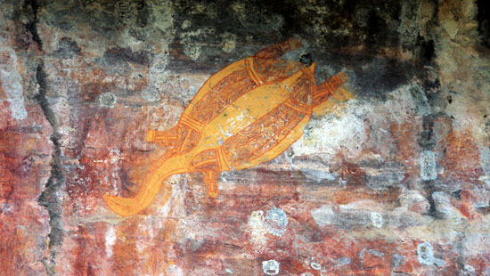 Rock Carvings Kakadu